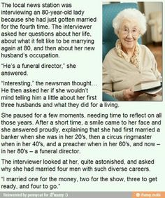 Hahaha greatest old lady ever.