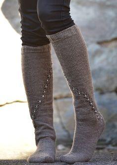Crochet Socks, Knitting Socks, Hand Knitting, Knitting Patterns, Knit Crochet, Knit Socks, Knitting Ideas, Boot Cuffs, Leg Warmers