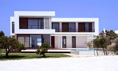 fachadas de casas modernas con cantera - Buscar con Google