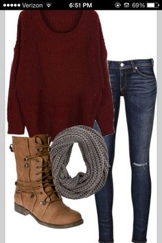 Love the fall outfits