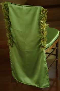 Green- chair cover- add color