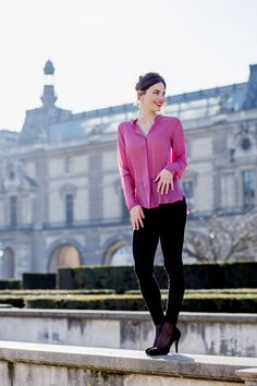 Top Jackie - Sophie Rive Droite Paris Marque de prêt à porter en édition limitée et 100% Made in France. Collection et mode féminine.