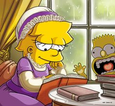 Books Every Woman Should Read by Lisa Simpson - Album on Imgur