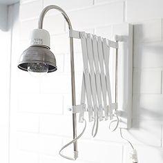 Industrial Factory Loft Lamp White / MyZorki Design
