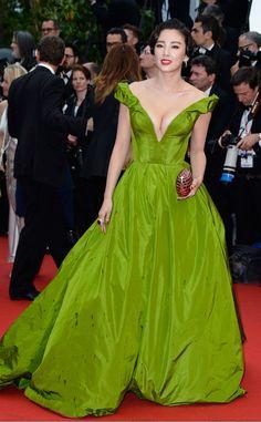 Red Carpet Awards - Zhang Yugi inUlyana Sergeenko at Cannes Film Festival 2013