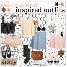 """""""ariana grande inspired looks ✿"""" by tiny-tips on Polyvore"""