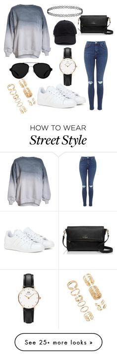 """Street style"" by melninkaitischri on Polyvore featuring adidas, Kate Spade, 3.1 Phillip Lim, Daniel Wellington, Forever 21, women's clothing, women's fashion, women, female and woman"