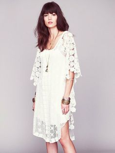 Free People Nicole's White Story Limited Edition Dress on shopstyle.com
