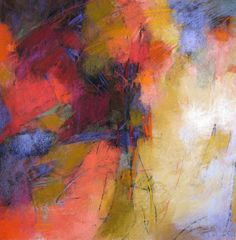 Abstract Pastels by Debora L Stewart