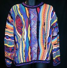 SUPER UGLY COSBY SWEATER MULTICOLOR CANADA TUNDRA MERCERIZED COTTON CHRISTMAS