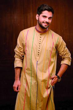 Hadiqa Kiani New Kurta Shalwar Collection 2014 for Men (4)