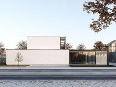 Modern House 2 on Behance Villa Design, Facade Design, Exterior Design, Minimal Architecture, Residential Architecture, Architecture Design, Minimalist House Design, Modern House Design, Great Buildings And Structures