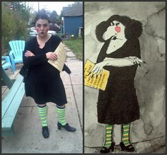 Miss Viola Swamp from Miss Nelson is Missing! by James Marshall #halloween #costumes