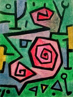 Paul Klee : Heroic Roses 1938