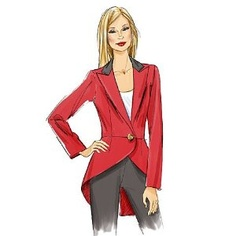 Vogue V8601 LINED JACKETS SEWING PATTERN 5 DESIGN OPTIONS Size: 14-16-18-29-22 Bust Measurement: 36 TO 44 inches Hips: 38 TO 46 Inches All Sizes Included in Envelope English & French Instructions. New Pattern .: Amazon.co.uk: Vogue: Books