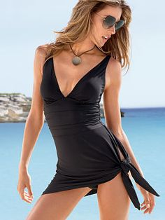 Convertible Dress One-piece Swimsuit from Victoria's Secret. Pretty for a one piece cool that it can be worn 3 ways