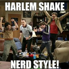 Harlem shake nerd style..