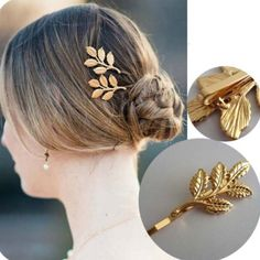SALEGold leaf hair pin Brand new with tags✨expect fast shipping  Any questions please ask please check out my other listings✨ 20% off on bundles buy more  save more  Jewelry