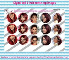 "1"" Bottle Caps (4X6) F170 celebrity ariana grande celebrities bottle cap images #celebrities #bottlecap #BCI #shrinkydinkimages #bowcenters #hairbows #bowmaking #ironon #printables #printyourself #digitaltransfer #doityourself #transfer #ribbongraphics #ribbon #shirtprint #tshirt #digitalart #diy #digital #graphicdesign please purchase via link http://craftinheavenboutique.com/index.php?main_page=index&cPath=323_533_42_60"