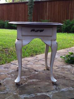 French Country End Table By DetailsMoreDetails On Etsy, $195.00