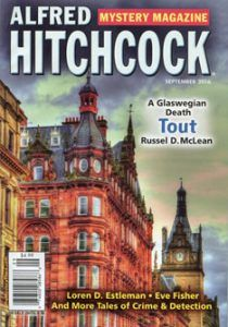 Alfred Hitchcock's Mystery Magazine Sep. 2016