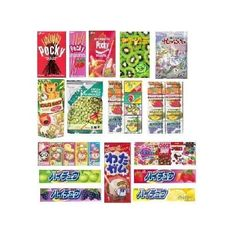 AmazonSmile: Japanese Classic Candy, Cookies and Snack Japanese Cookies (20 Packs)