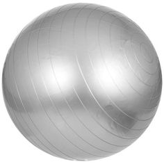 Gymnastikball-Sitzball-Fitnessball-Ball-inkl-Pumpe-grau-55-cm-Gorilla-Sports