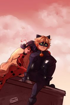 Lol chat looks like he's aboutta cry of happiness | Ladynoir