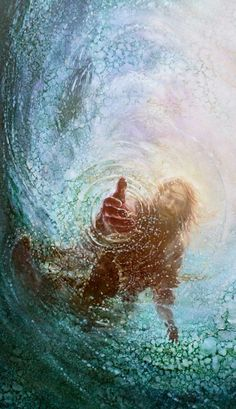This picture of Jesus has two meanings in relation to the novel. Christianity is the second religion Pi became a part of, it also represents god saving Pi from the ocean Image Jesus, Jesus Christus, Biblical Art, Biblical Tattoos, Prophetic Art, Jesus Pictures, Pics Of Jesus, Lds Jesus Christ Pictures, Heaven Pictures
