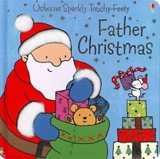 Father Christmas Sparkly Touchy-Feely by Fiona Watt - Hardcover - NEW - Book