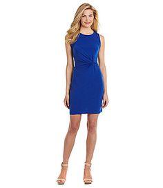 Calvin Klein Jersey Sheath Dress #Dillards