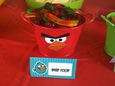 Angry birds food ideas