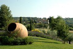 Paesaggio Toscano dalla Tenuta