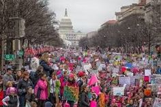 Women's March Protesters in D. and across the country pledge it?s only the beginning - The Washington Post Nuclear Family, Women In America, New Freedom, Right To Vote, Respect Women, I Want To Cry, Happy Marriage, Historical Society, Cold War
