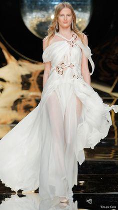 yolan cris bridal 2017 off shoulder halter straps aline wedding dress (19) mv