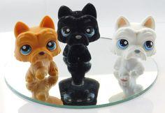 Littlest Pet Shop Scottie Dog Lot of 3 Different Puppies - #249 #315 #24 | eBay