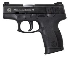Taurus MILLENNIUM PRO™ COMPACT 745 .45 ACP COMPACT PISTOL IN BLUE STEEL.  This is my new girl!!!  I love it!   Great ladies gun...