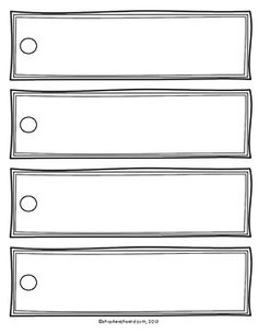 Blank Bookmark Template For Word This Is A Blank Template That Can