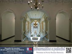 Planta superior del Palacio del marqués de Fontalba. Puedes asistir a una visita guiada gratuita a este bien cultural a través del programa ¡Bienvenidos a palacio! + info: bienvenidosapalacio.es