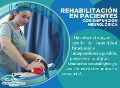 Rehabilitación en pacientes con alguna disfunción neurológica, un servicio más que ofrecemos en Grupo Fisioterapéutico Integral #GrupoFI.