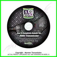 Ever wanted to rebuild your own Transmission! Now you can with this one of a kind DVD! Important Things In Life, Car Hacks, Monster, It Is Finished, Car Repair, Chevy, Chevrolet, Air Supply, Garage