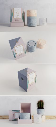 The Desert candle packaging by Hellocean– Fivestar Branding Agency