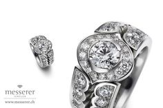Fashion statement Diamond Ring by Messerer Class Ring, Engagement, Diamond, Rings, Jewelry, Fashion, Handmade Jewelry, Moda, Jewlery