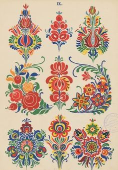 Folk Embroidery Patterns pixels - Our friends at The Silk Bureau have a great discount offer available to all our Patternbank customers. With competitive rates it's never been easier to Hungarian Embroidery, Folk Embroidery, Embroidery Designs, Indian Embroidery, Embroidery Stitches, Floral Embroidery Patterns, Embroidery Tattoo, Flower Patterns, Art Populaire Russe