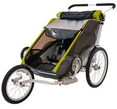 Thule Chariot Cougar 2 with Jog Kit - winner of BabyGearLab's Top Pick Award