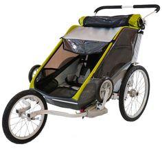 Thule Chariot Cougar 2 with Jog Kit - winner of BabyGearLab's Top Pick Award Jogging Stroller, Baby Strollers, Bike, Awards, Baby Registry, Top, Babies, Baby Prams, Bicycle