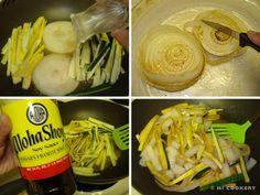 Teppanyaki-Style Zucchini, Onions and Yellow Squash