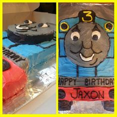 My Thomas the Train cake