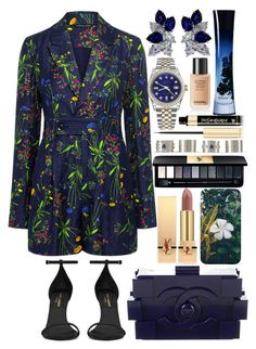 """""""KCAs 2017 Outfit #2"""" by saav003 ❤ liked on Polyvore featuring Marissa Webb, Yves Saint Laurent, Chanel, Fantasia, Rolex, Giorgio Armani and Maison Margiela"""