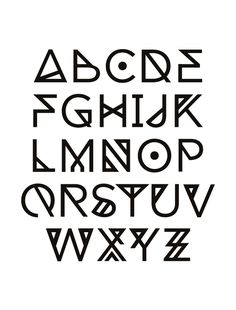 Dia Font by Tommy Larsen, via Behance